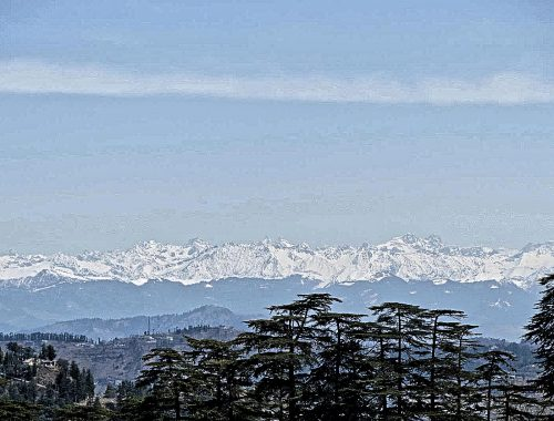 Individualreise nach Indien. Empire im Himalaya. Himalaya Bergpanorama