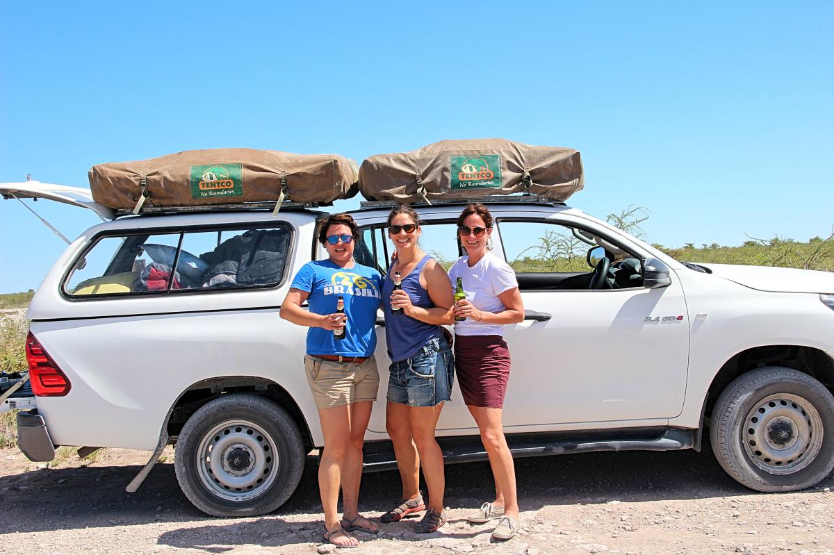 Namibia Safari Dachzelt