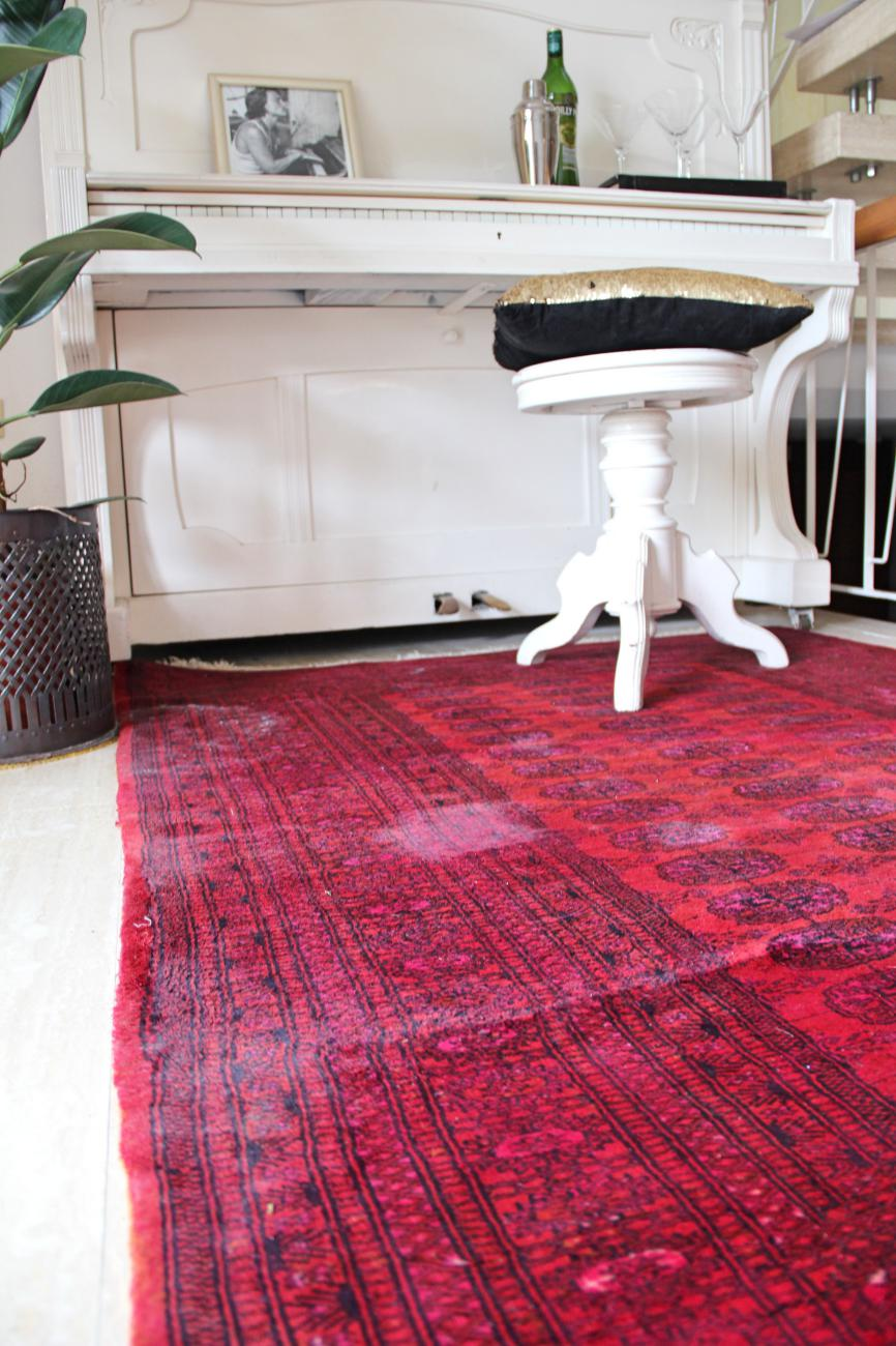 DIY Perserteppich färben | Upcyclen statt wegwerfen