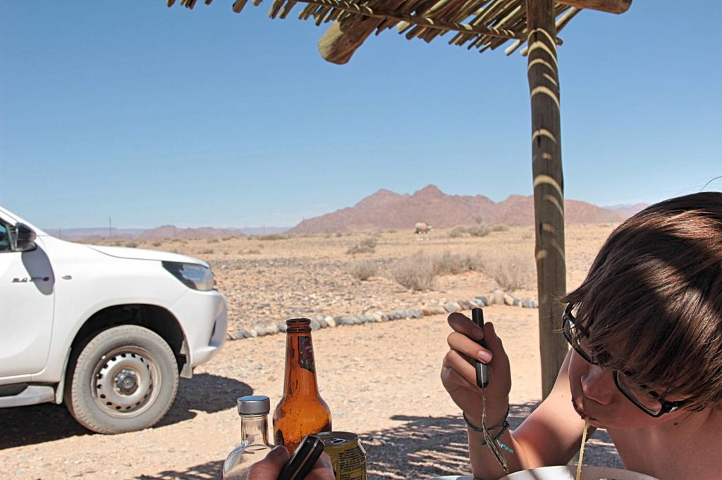 Namibia Safari mit Kindern