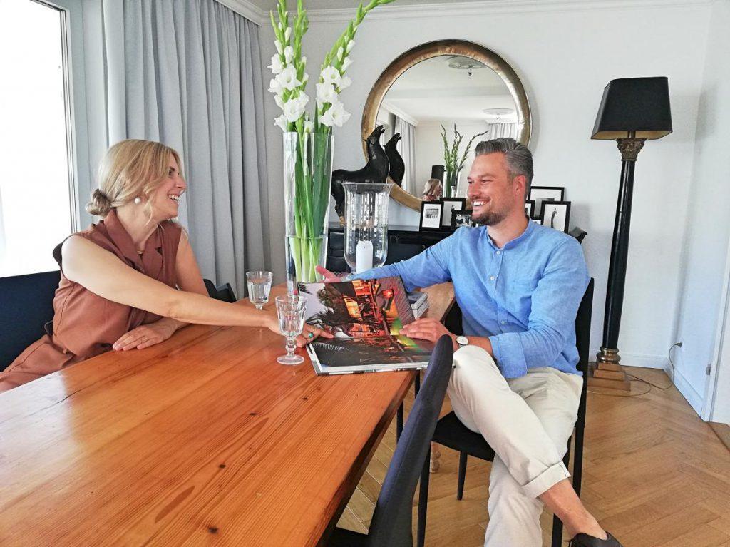 Homestory Zu Besuch bei Eric Dane Valerie Gerards Lifestyleblog Tobi und Nina