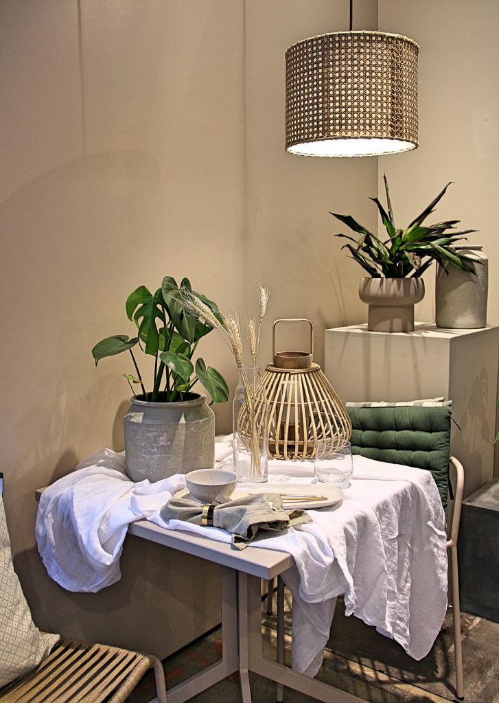 Einrichtungstipps dekorieren naturtöne geflecht tischdeko broste copenhagen Ambiente 2020