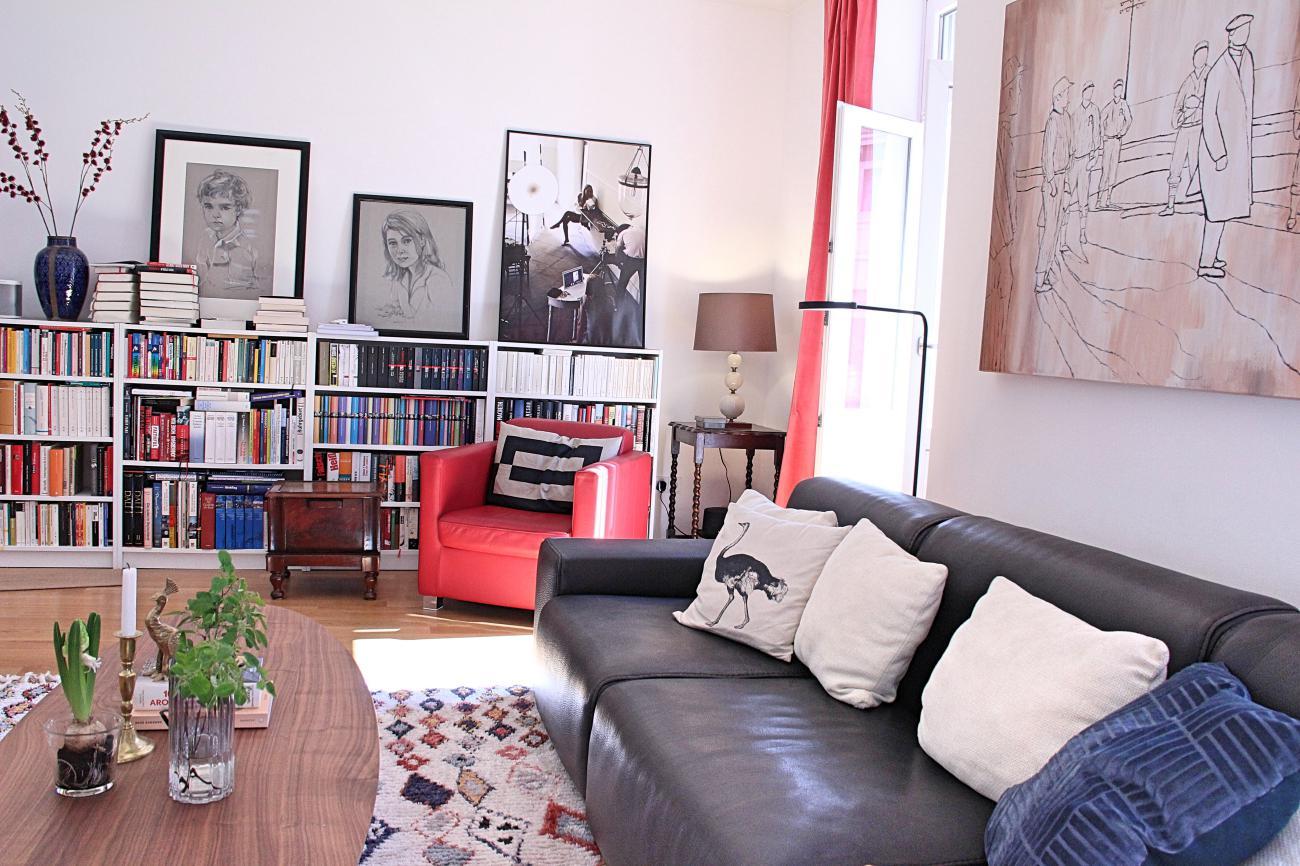 Wohnidee Altbau Wohnzimmer einrichten