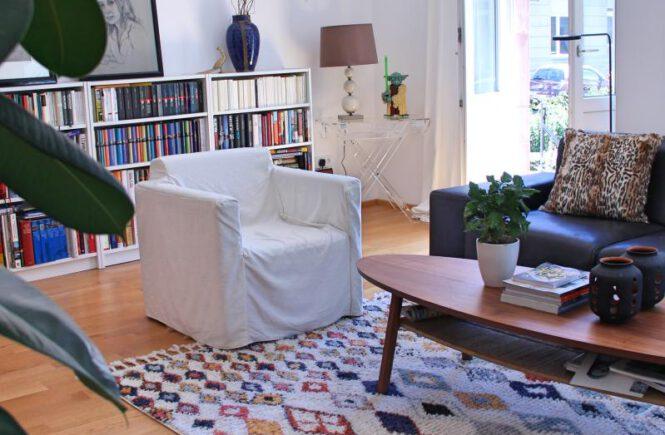 Vorher-Nachher: Wohnzimmer Umstyling