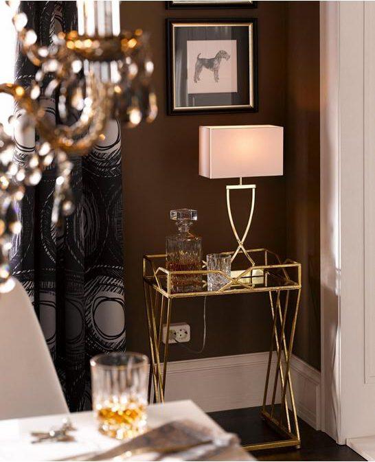 Die schönsten Tischleuchten. Klasse und Gemütlichkeit im Handumdrehen. Einrichten und Dekorieren. Beleuchtung im Wohnzimmer.